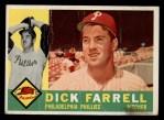 1960 Topps #103   Dick Farrell Front Thumbnail