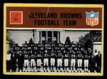 1967 Philadelphia #37  Cleveland Browns  Front Thumbnail