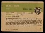 1961 Fleer #6   Stan Jones Back Thumbnail