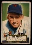 1952 Topps #125   Bill Rigney Front Thumbnail