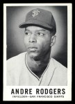 1960 Leaf #42  Andre Rodgers  Front Thumbnail