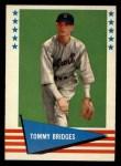 1961 Fleer #95   Tommy Bridges Front Thumbnail