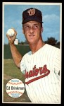 1964 Topps Giants #27   Eddie Brinkman  Front Thumbnail