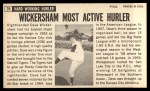 1964 Topps Giants #35  Dave Wickersham   Back Thumbnail