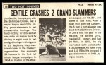 1964 Topps Giants #15   Jim Gentile  Back Thumbnail