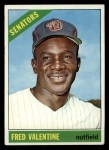 1966 Topps #351  Fred Valentine  Front Thumbnail