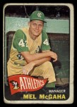 1965 Topps #391  Mel McGaha  Front Thumbnail