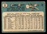 1965 Topps #22  Charlie Smith  Back Thumbnail