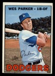 1967 Topps #218   Wes Parker Front Thumbnail