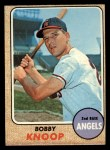1968 Topps #271   Bobby Knoop Front Thumbnail