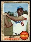 1968 Topps #65   John Roseboro Front Thumbnail