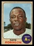 1968 Topps #404   Floyd Robinson Front Thumbnail