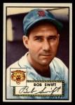 1952 Topps #181   Bob Swift Front Thumbnail