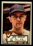 1952 Topps #173   Roy Smalley Front Thumbnail