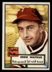 1952 Topps #158  Eddie Waitkus  Front Thumbnail
