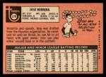 1969 Topps #378  Jose Herrera  Back Thumbnail