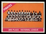 1966 Topps #404 ERR  Pirates Team Front Thumbnail