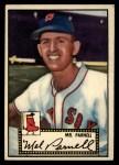 1952 Topps #30 BLK  Mel Parnell Front Thumbnail