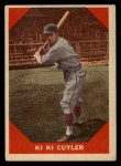1960 Fleer #75   Kiki Cuyler Front Thumbnail