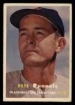 1957 Topps #64   Pete Runnels Front Thumbnail