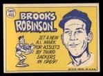 1970 Topps #455  All-Star  -  Brooks Robinson Back Thumbnail