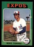 1975 Topps Mini #254  Mike Torrez  Front Thumbnail