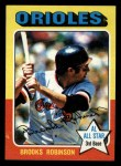 1975 Topps Mini #50   Brooks Robinson Front Thumbnail