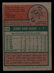 1975 Topps Mini #102   Joe Decker Back Thumbnail