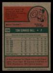 1975 Topps Mini #108   Tom Hall Back Thumbnail