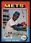 1975 Topps Mini #264   John Milner Front Thumbnail