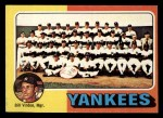 1975 Topps Mini #611  Yankees Team Checklist  -  Bill Virdon Front Thumbnail