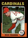 1975 Topps Mini #98   Rich Folkers Front Thumbnail