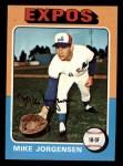 1975 Topps Mini #286   Mike Jorgensen Front Thumbnail