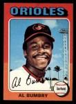 1975 Topps Mini #358   Al Bumbry Front Thumbnail