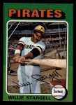 1975 Topps Mini #100   Willie Stargell Front Thumbnail