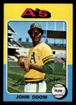 1975 Topps Mini #69   Blue Moon Odom Front Thumbnail