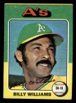 1975 Topps Mini #545  Billy Williams  Front Thumbnail