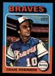 1975 Topps Mini #367  Craig Robinson  Front Thumbnail