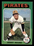 1975 Topps Mini #124   Jerry Reuss Front Thumbnail