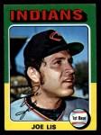 1975 Topps Mini #86   Joe Lis Front Thumbnail