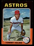 1975 Topps Mini #119  Tommy Helms  Front Thumbnail