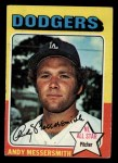 1975 Topps Mini #440   Andy Messersmith Front Thumbnail