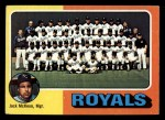 1975 Topps Mini #72  Royals Team Checklist  -  Jack McKeon Front Thumbnail