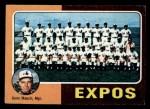 1975 Topps Mini #101  Expos Team Checklist  -  Gene Mauch Front Thumbnail