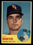 1963 Topps #499  J.C. Martin  Front Thumbnail