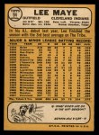 1968 Topps #94  Lee Maye  Back Thumbnail