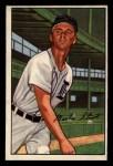 1952 Bowman #147   Marlin Stuart Front Thumbnail