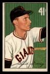 1952 Bowman #198  Chuck Diering  Front Thumbnail