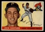 1955 Topps #73   Jack Shepard Front Thumbnail