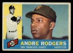 1960 Topps #431   Andre Rodgers Front Thumbnail